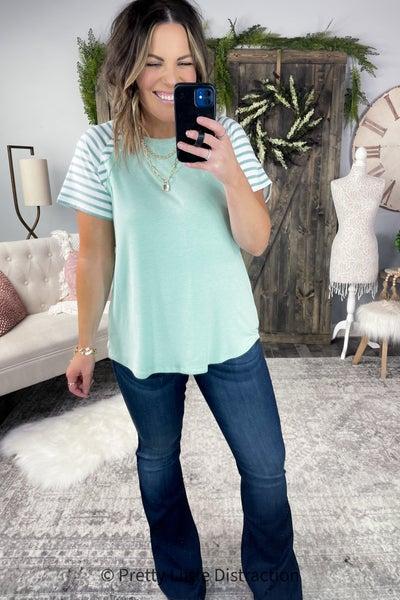 Hailey &  Co. Soft Short Sleeve Top