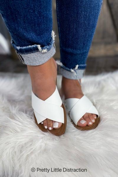 White Summer Sandal