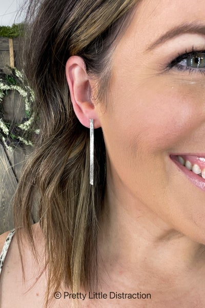 Snake Chain Earring