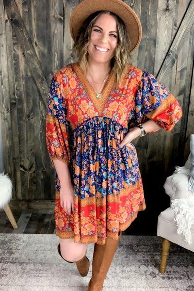 Annie Floral Dress