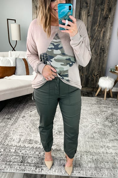 Madeline OIive Jogger Jeans