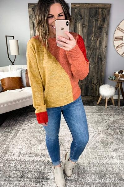 Lexi Colorblock Sweater