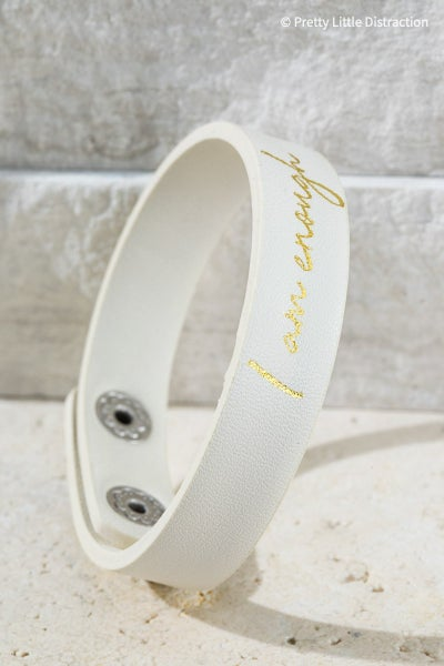 I Am Enough Bracelet