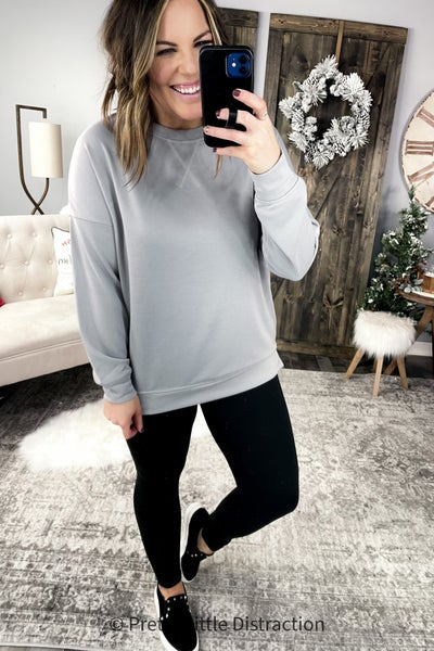 Casual Pullover Top