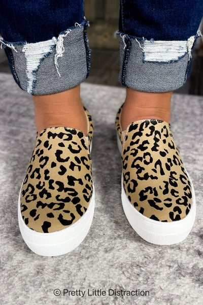 Leopard Print Hike Bobcat Sneaker