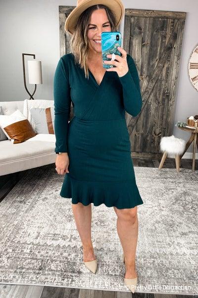 Quinn Ribbed Dress