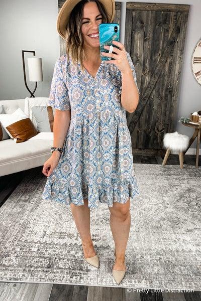 Natalie Babydoll Dress