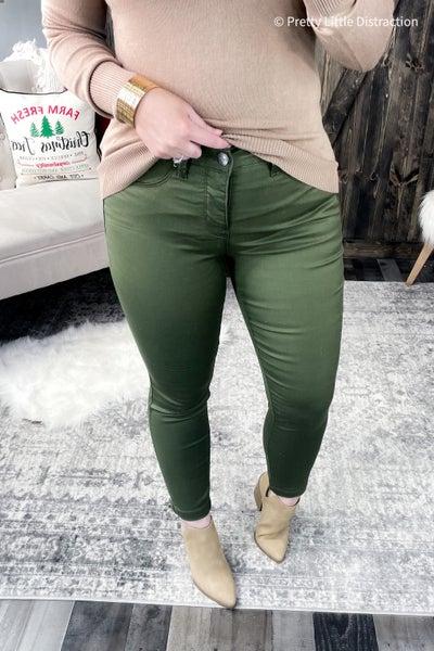 Olivia Olive Jeans (BF)