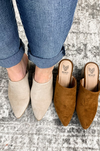 Fall Mule Heels