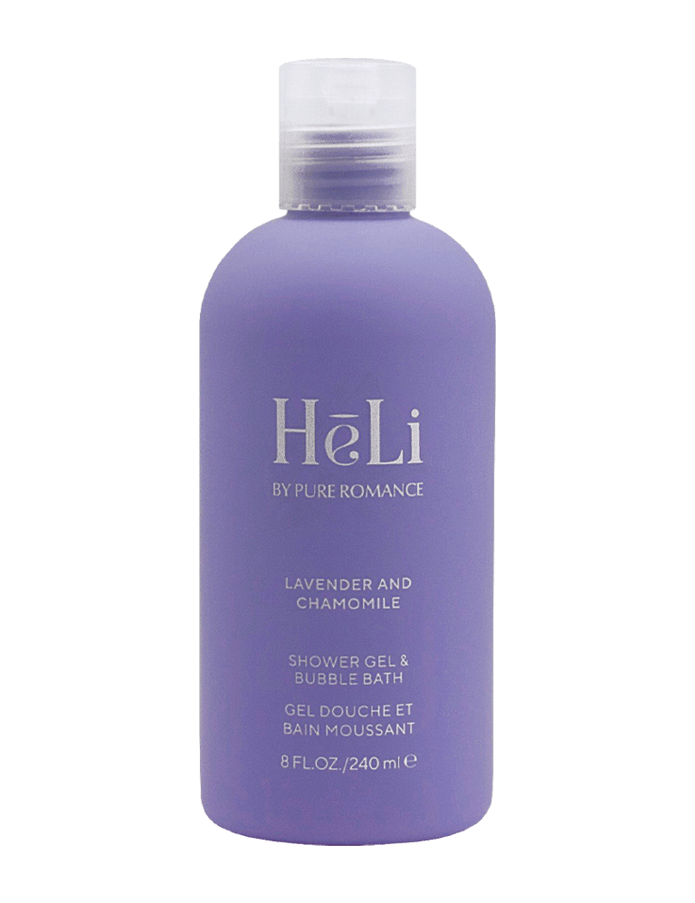 HeLi-Shower and Bubble Bath-Lavender and Chamomile