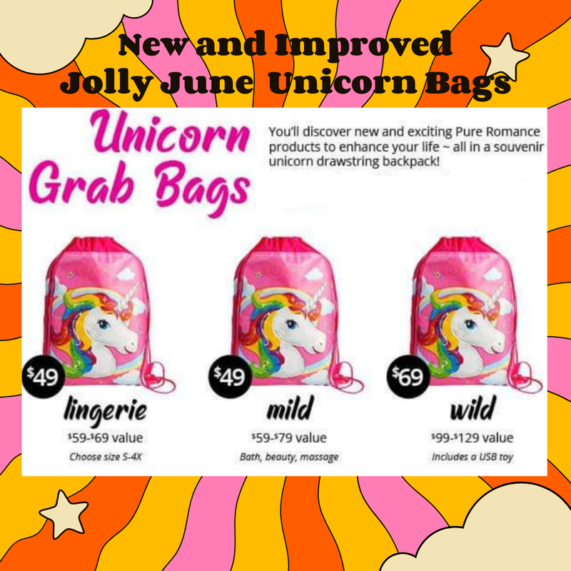 Unicorn Bag (Choose Mild, Wild or Lingerie)