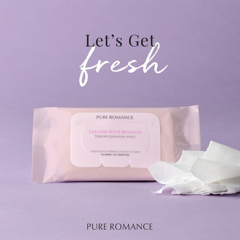 Cleanse With Benefits - Tingling Cleansing Wipes