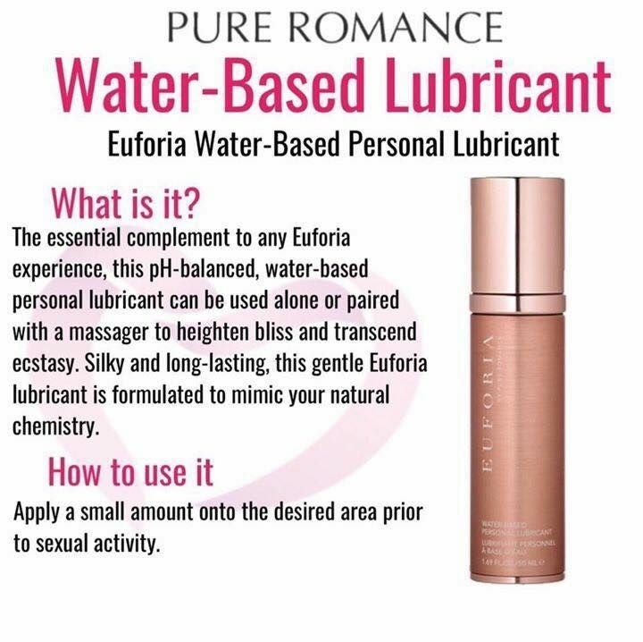 Euforia Water-Based Lubricant