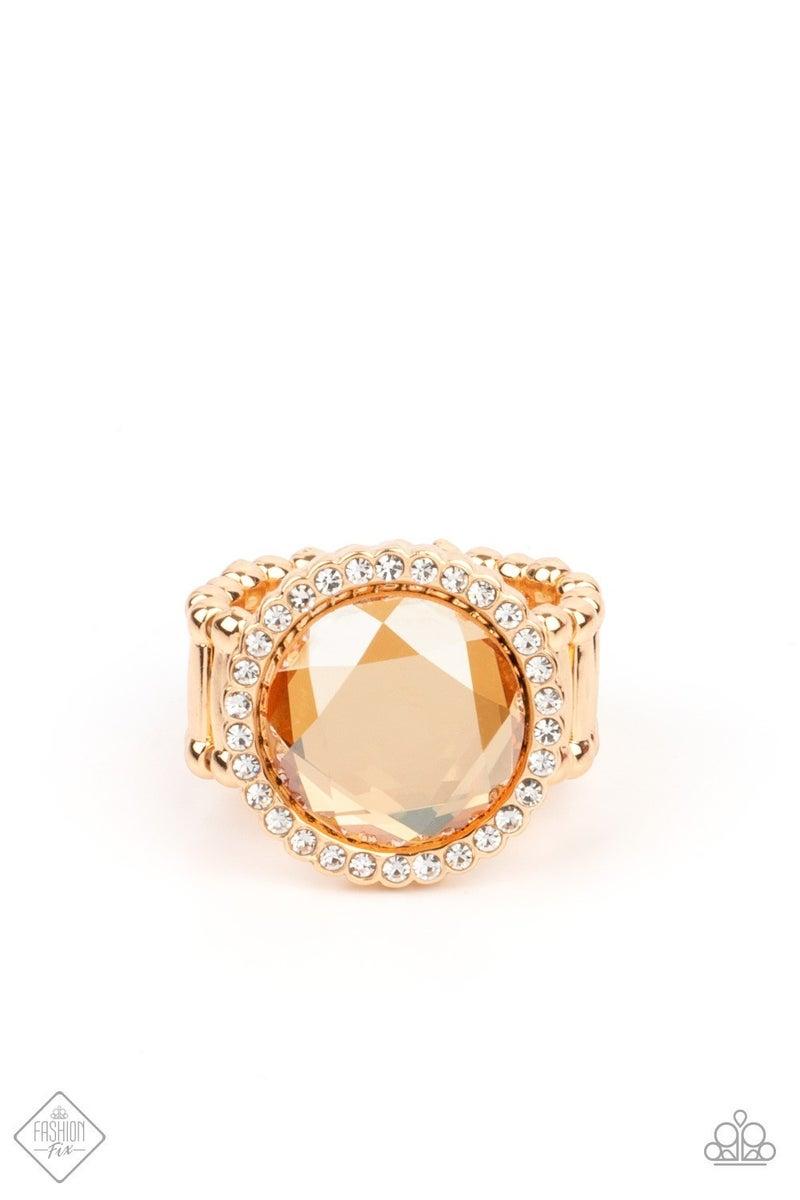 April Fashion Fix Crown Culture - Gold