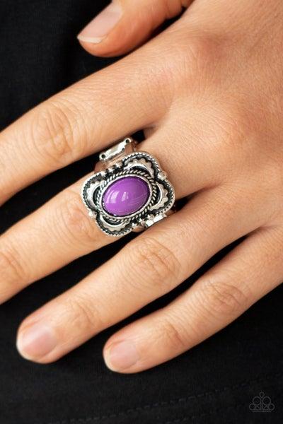 Vivaciously Vibrant - Purple