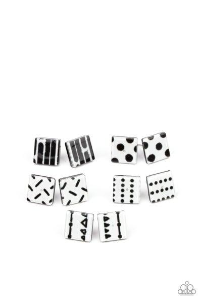 Starlet Shimmer- Square Earrings