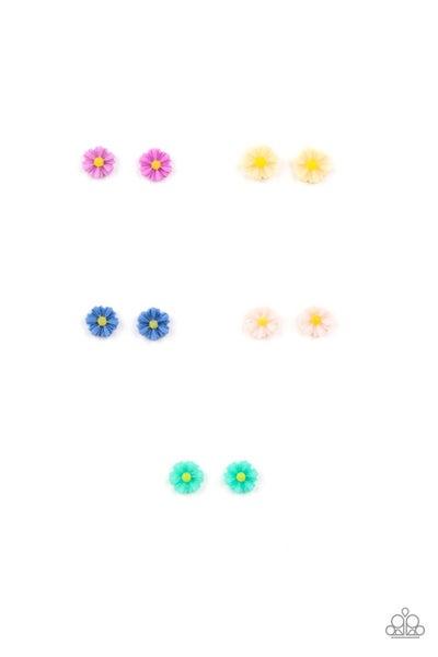 Starlet Shimmer Floral Earrings