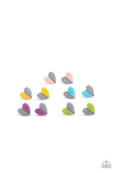 Starlet Shimmer - Half Striped Hearts