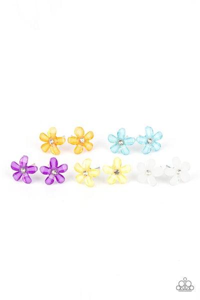 Starlet Shimmer - Floral Earrings