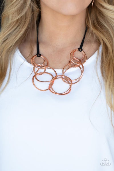 Spiraling Out of COUTURE - Copper