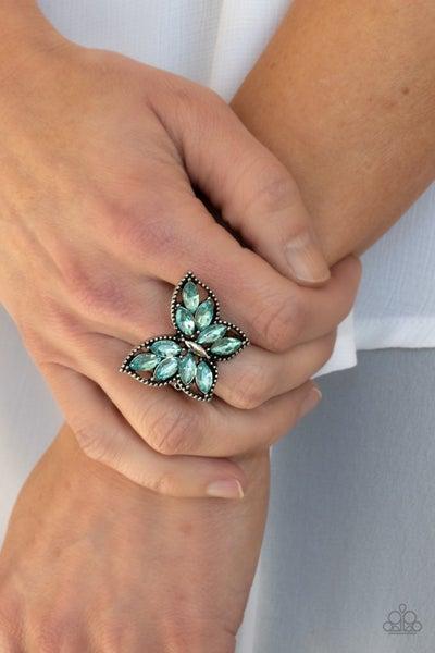 Fluttering Fashionista - Blue