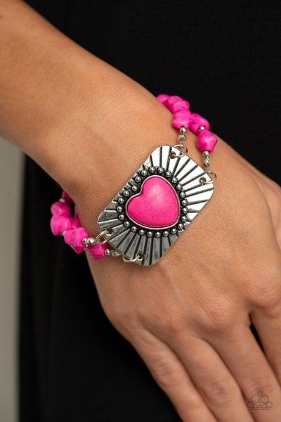 Sandstone Sweetheart - Pink