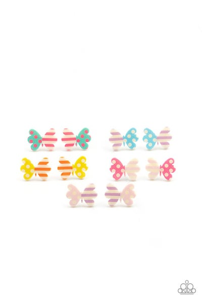 Starlet Shimmer - Assorted Striped and Polka dot Butterflies