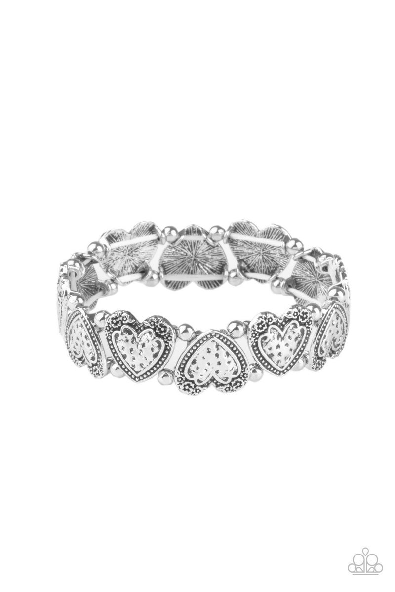 Rustic Heartthrob - Silver