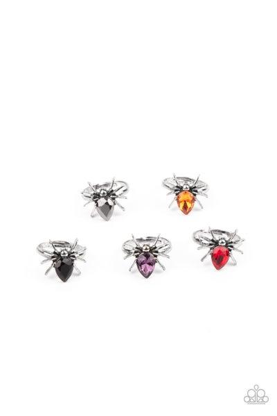 Starlet Shimmer - Spider Rings