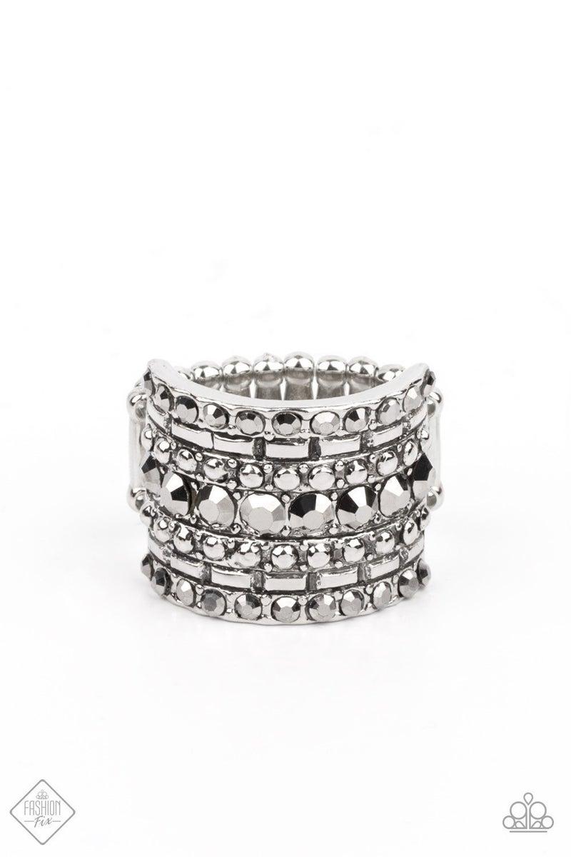 April Fashion Fix Target Locked - Silver