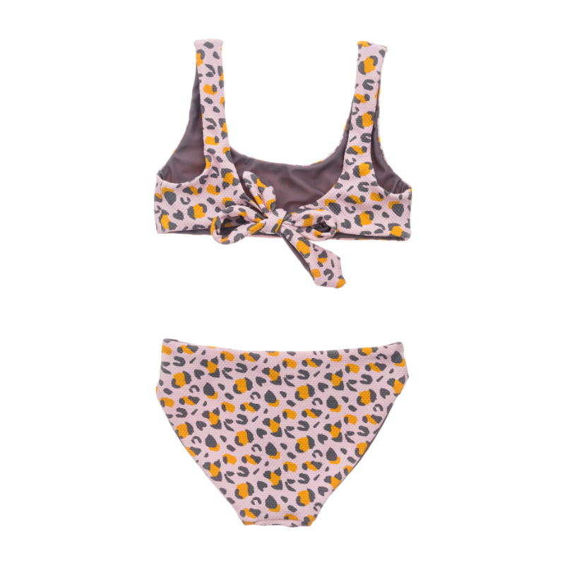 Lovely Leopard Girls Bikini