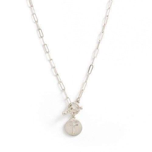 Cross My Heart Necklace from Splendid Iris
