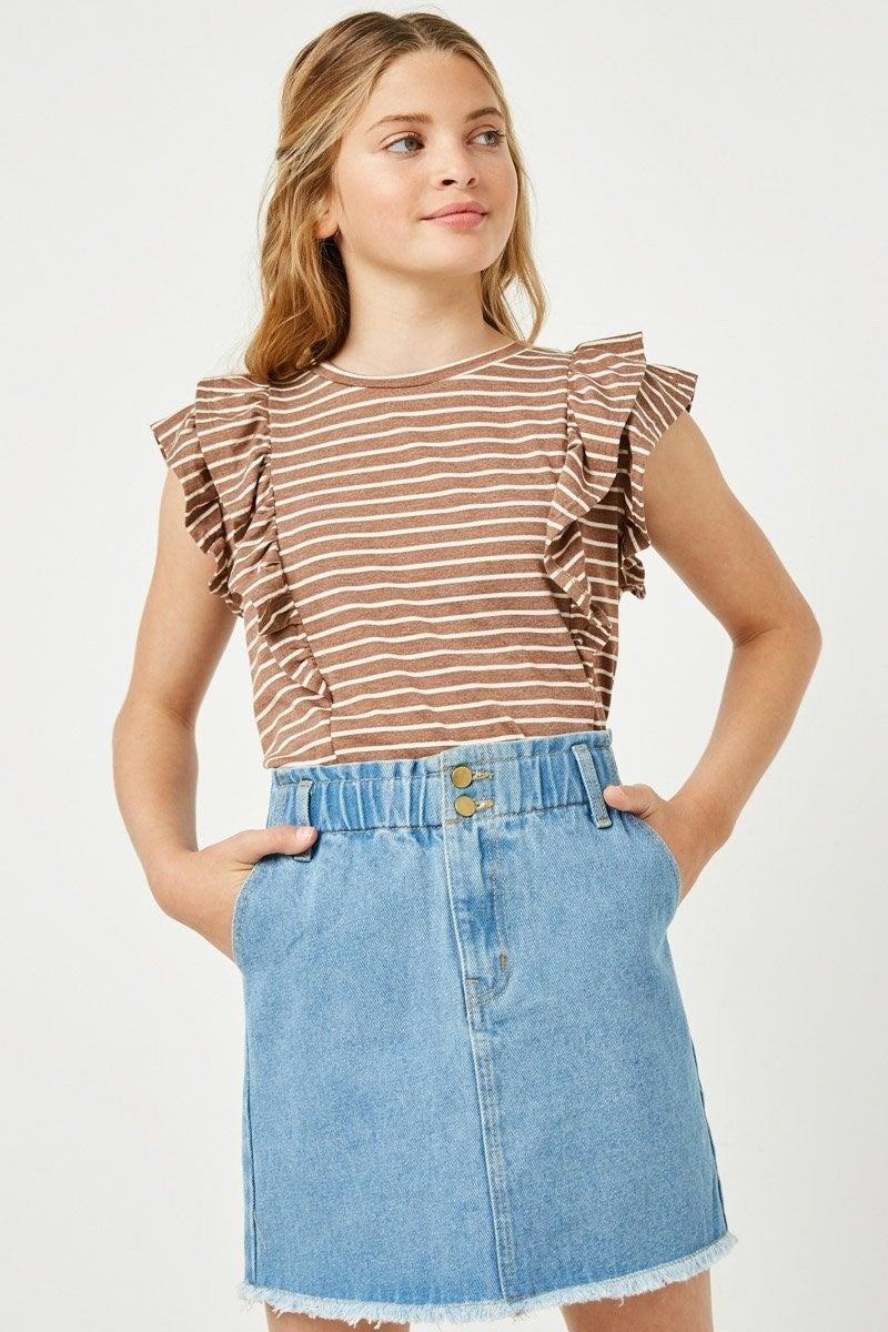 Free Spirit Denim Skirt