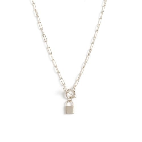 Lock and Chain Necklace from Splendid Iris