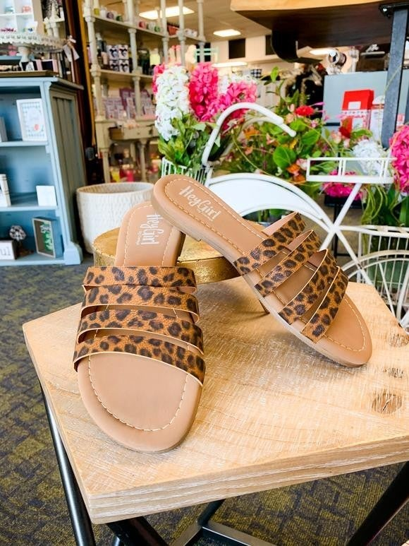 Leopard Sunshine and Sand Sandal