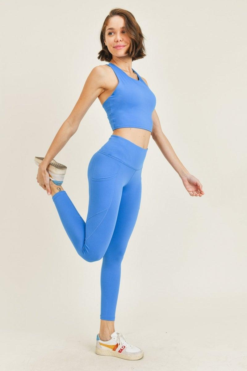 True Blue Athleisure Leggings