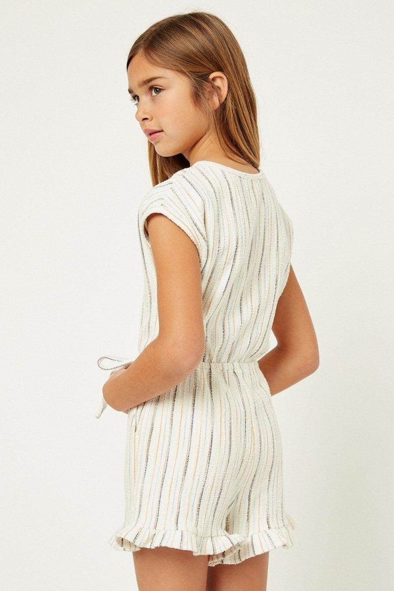 Sunny Stripes Romper