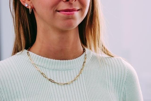 Perfect Paper Clip Necklace