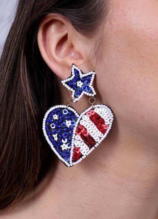 Party Like It's 1776 Earrings