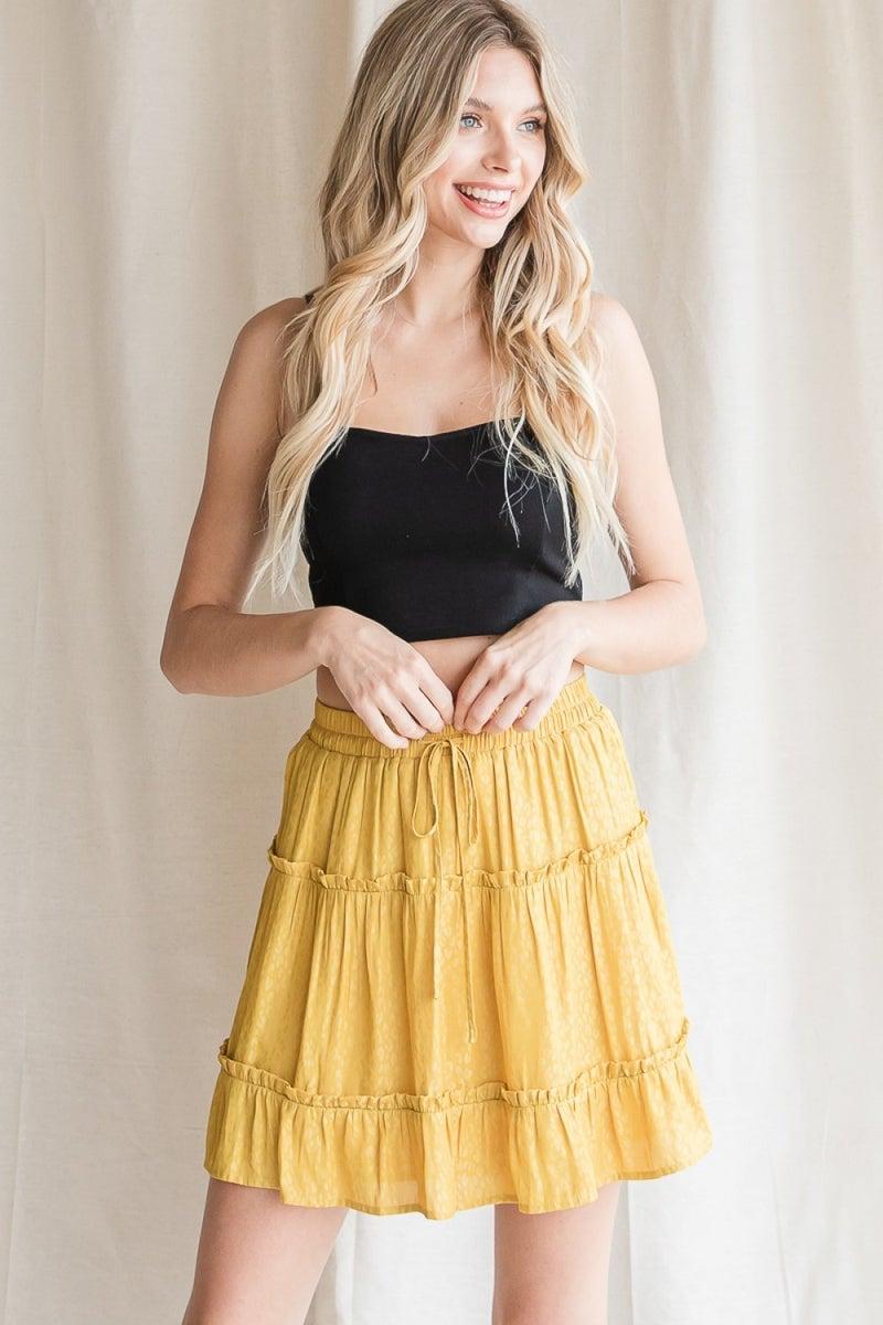 Walking on Sunshine Skirt