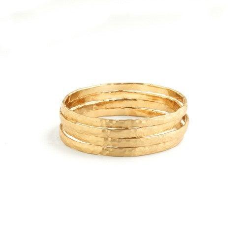 Splendid Iris Bangle Bracelets