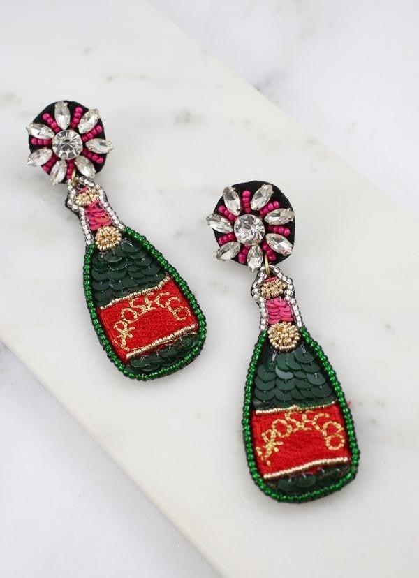 Poppin' Bottles Earrings