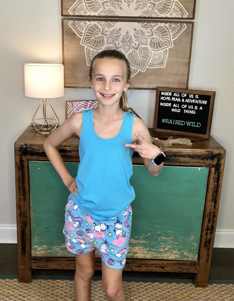 Candy Pink Pajama Shorts