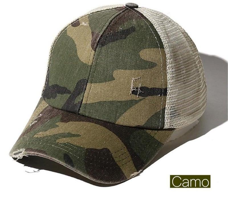 Ponytail Hats