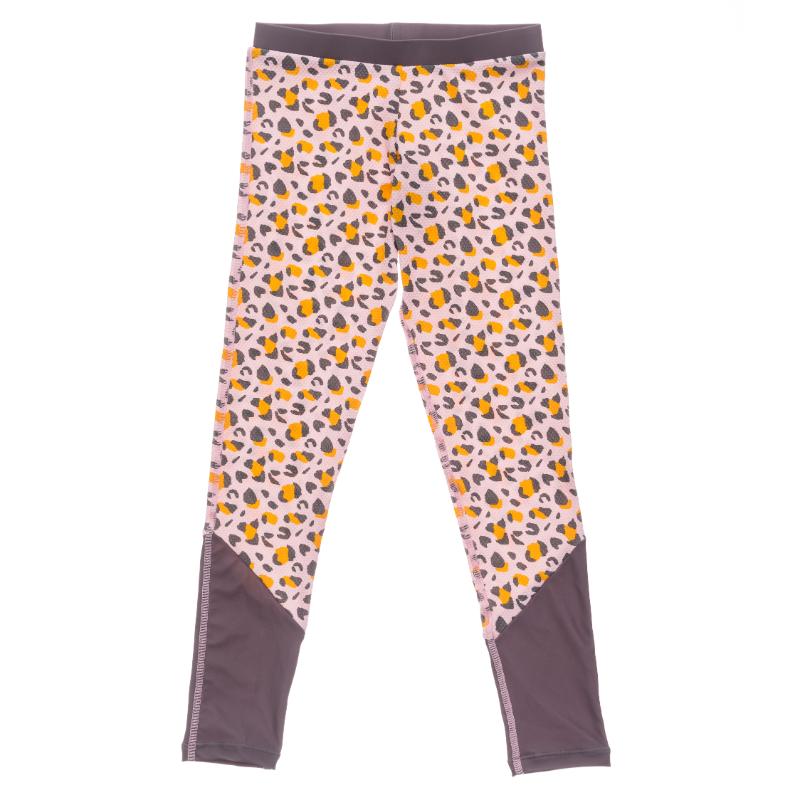 Lovely Leopard Girls Swim Leggings