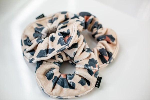 Wild Microfiber Towel Scrunchie