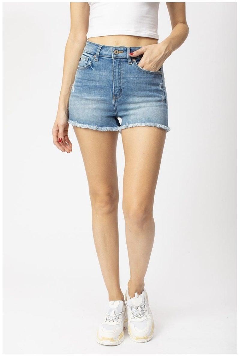 Kancan High Rise Comfort Stretch Shorts