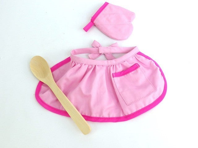 Helper in the kitchen 3-piece set : 18-inch doll clothing
