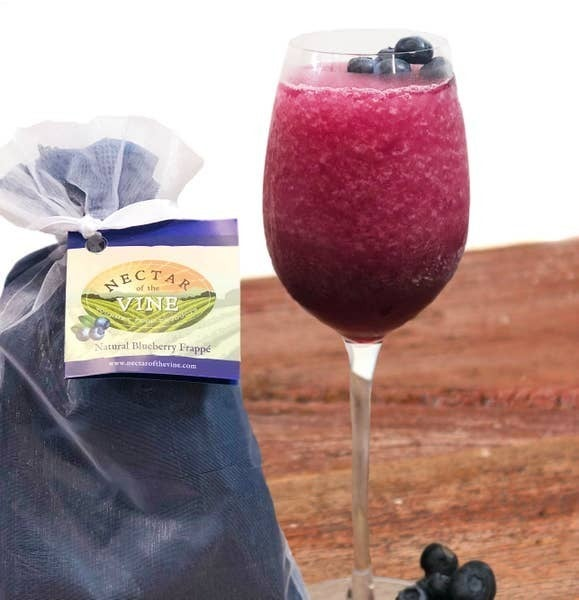 Nectar of the Vine - Natural Blueberry Wine Slushy Mix