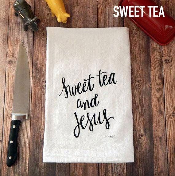 Flour Sack Tea Towels by Green Bee Tea Towels